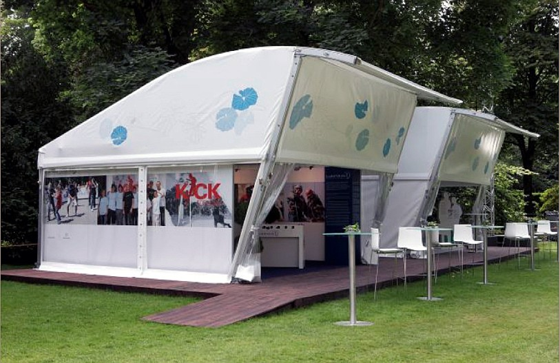 European twist on Tent Structure reaches Australian market & Feature Products - Quality Event Hire